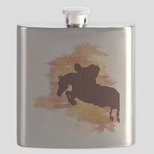 Horse Jumper Flask