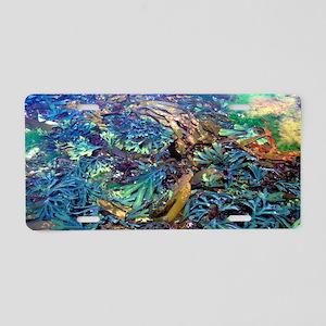 Seaweeds Aluminum License Plate