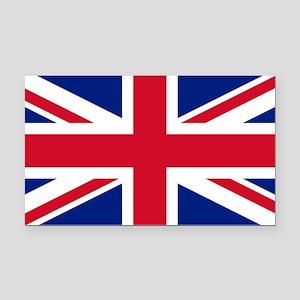 Union Jack Rectangle Car Magnet