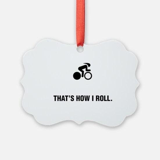 Bicycle-Racer-ABG1 Ornament