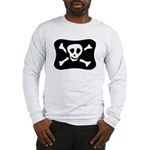 Vintage Jolly Roger Long Sleeve T-Shirt