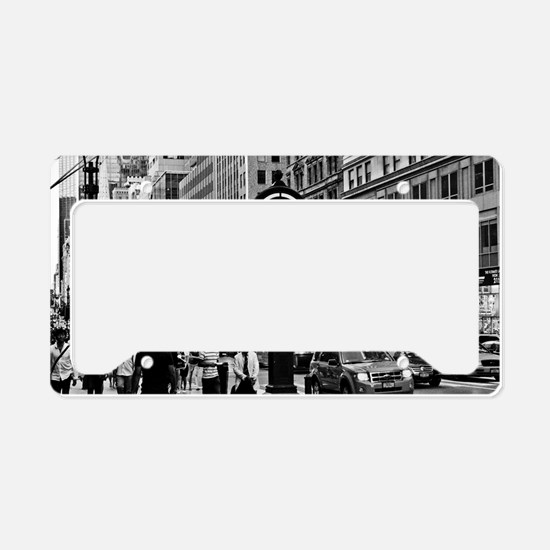 Fifth Ave - New York City License Plate Holder
