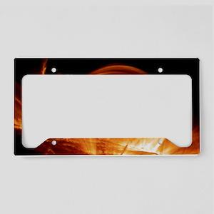 Solar coronal loops License Plate Holder