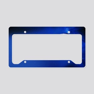 Solar eclipse geometry License Plate Holder