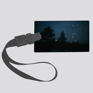 Starfield including Orion, Siriu Large Luggage Tag