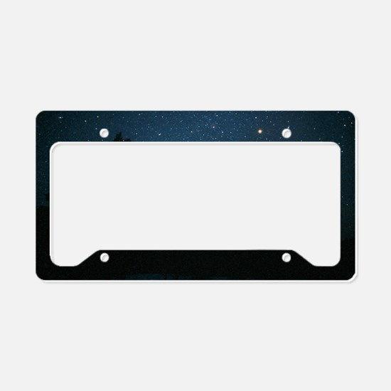 Starfield including Orion, Si License Plate Holder