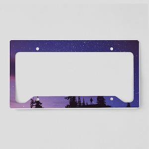 Starry sky License Plate Holder