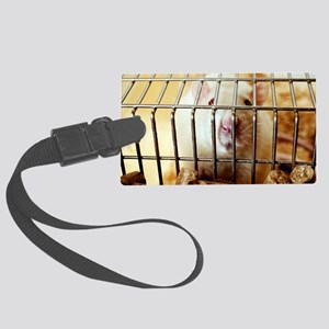 Sprague-Dawley laboratory rat Large Luggage Tag