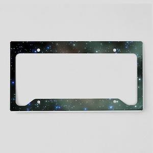 Star birth License Plate Holder