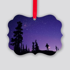 Starry sky Picture Ornament