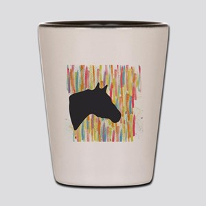 Quarter Horse Shot Glass