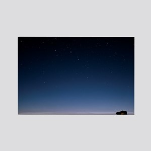 Starry sky Rectangle Magnet