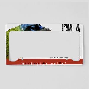 Green Jay Groupie License Plate Holder