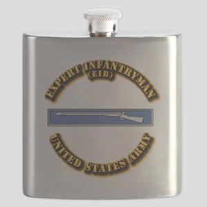 Army - EIB Flask