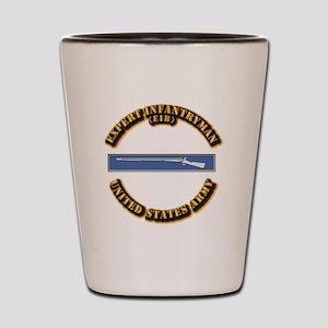 Army - EIB Shot Glass