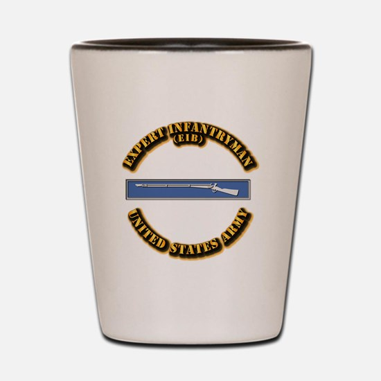 Army - EIB Shot Glass