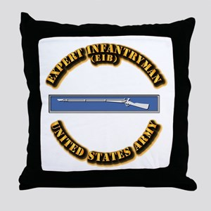 Army - EIB Throw Pillow
