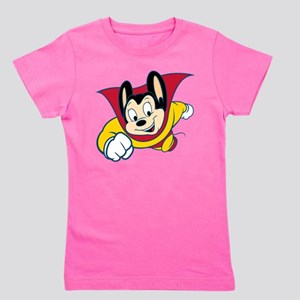 Mighty Mouse Girl's Tee