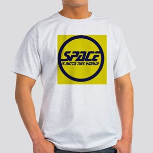 Space Geek Humor Light T-Shirt