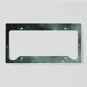 Stellar formation License Plate Holder