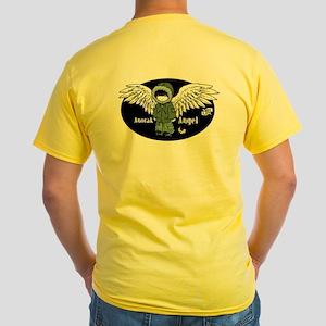 VK-UK Anorak Angel yellow T-shirt