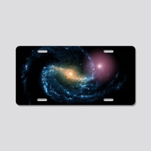 Supernova in galaxy NGC 130 Aluminum License Plate
