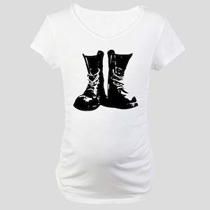 Skinhead Boots Maternity T-Shirt