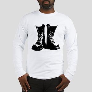 Skinhead Boots Long Sleeve T-Shirt