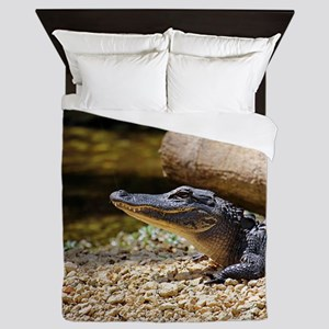 Baby Alligator Queen Duvet