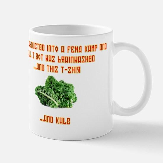 kale centered Mug