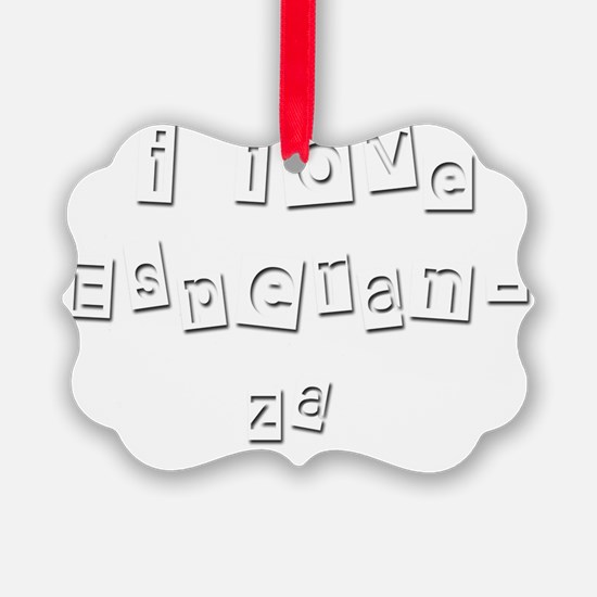 I Love Esperanza Ornament