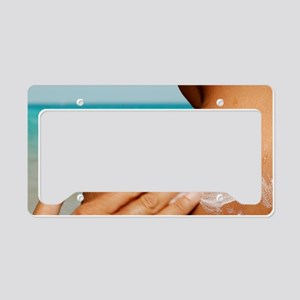 Sun protection License Plate Holder