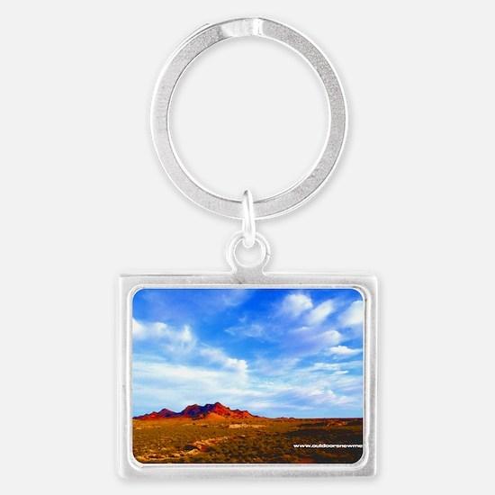 Dona Ana Mountains Landscape Keychain
