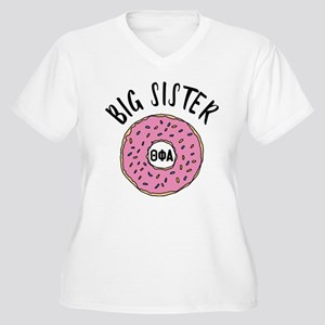Theta Phi Alpha B Women's Plus Size V-Neck T-Shirt