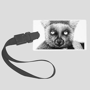 Ring-tailed Lemur Shoulder Bag Large Luggage Tag