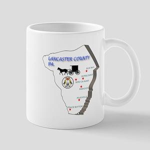 Lancaster County Pa. Mug