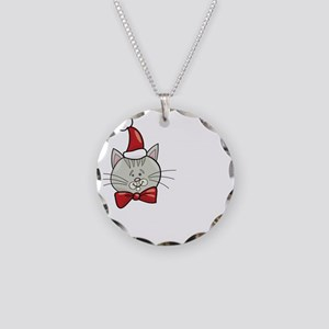 Real Men Love Cats Necklace Circle Charm