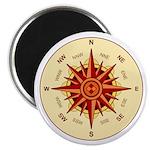 Compass Rose Magnet