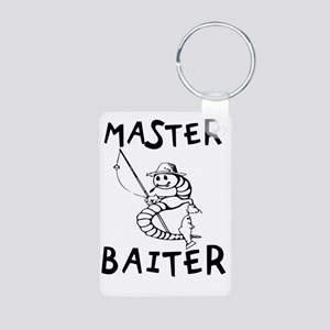 Master Baiter Aluminum Photo Keychain