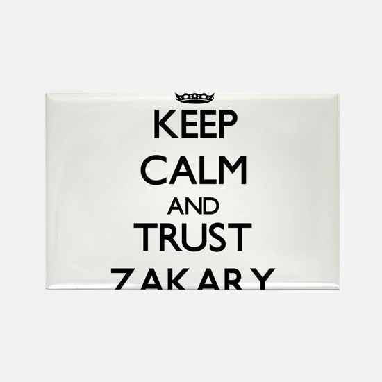 Keep Calm and TRUST Zakary Magnets