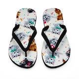 Kids cat Flip Flops