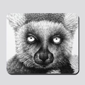 Ring-tailed Lemur Bucket Bag Mousepad