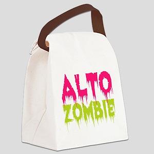 Choir Alto Zombie Canvas Lunch Bag