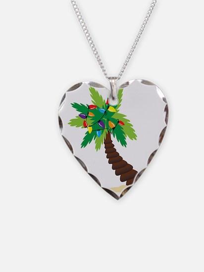 Christmas Palm Tree Necklace