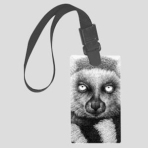 Ring-tailed Lemur iPad Mini Case Large Luggage Tag