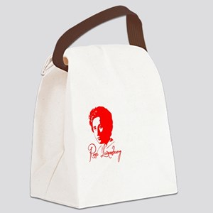 Rosa Luxemburg with Quote Canvas Lunch Bag