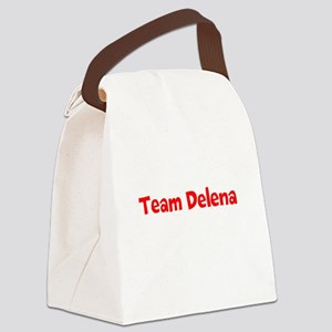 Team Delena Canvas Lunch Bag