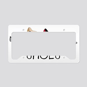 Shoes License Plate Holder