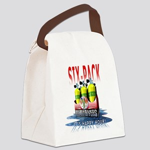 Bnad Of divers Six-Pack Canvas Lunch Bag