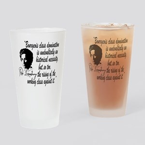 Rosa Luxemburg With Quote Drinking Glass